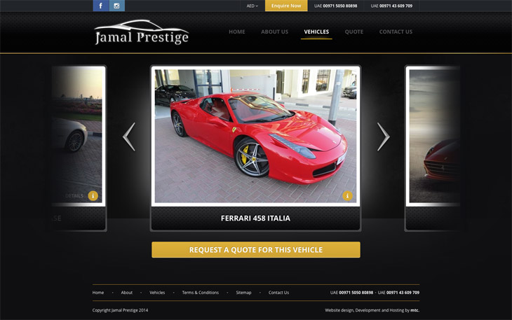 Jamal Prestige - Choose your car